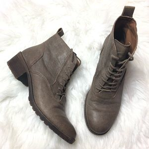 Lucky Brand 'Giorgia' Lace Up Bootie Size 8 1/2